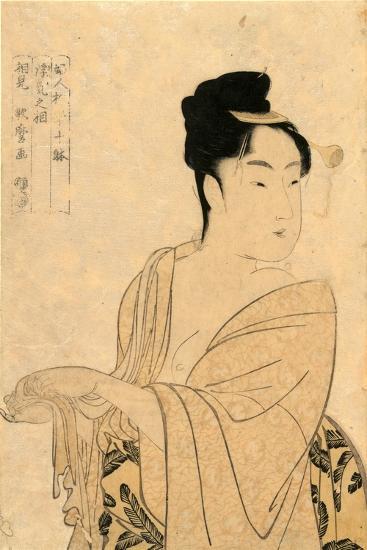 Uwaki No So-Kitagawa Utamaro-Giclee Print