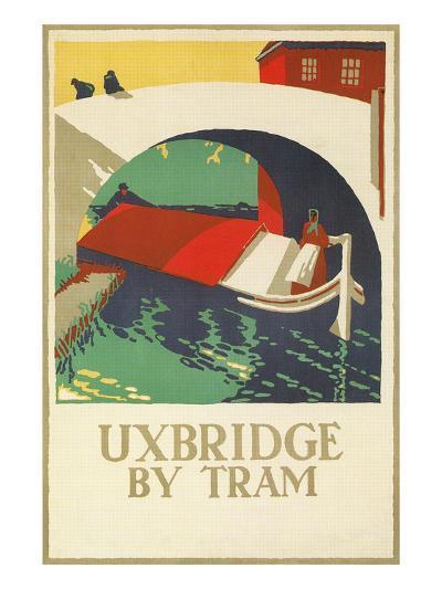Uxbridge by Tram--Art Print