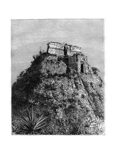 Uxmal, Pre-Columbian Ruined City of the Mayan Civilization, Yucatán, Mexico, 19th Cen-T Taylor-Giclee Print