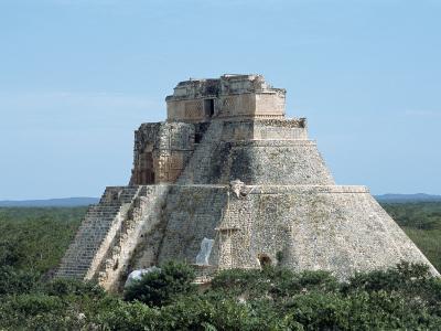 Uxmal, UNESCO World Heritage Site, Yucatan, Mexico, North America-Harding Robert-Photographic Print