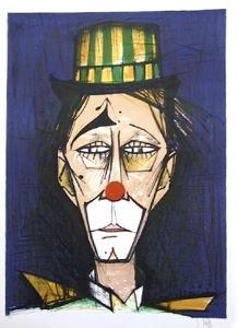 Clown by V. Beffa
