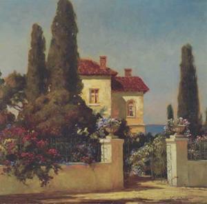 Tuscan Home I by V^ Dolgov