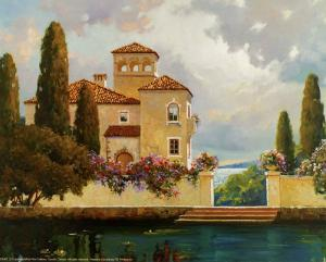 Tuscan Home II by V^ Dolgov
