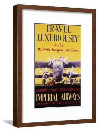 Travel Luxuriously Poster