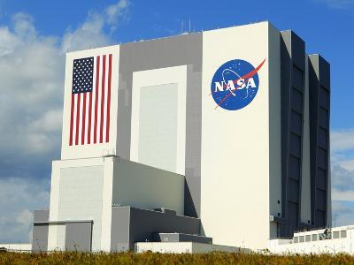 Vab Building at Sunrise, Cape Canaveral, Ksc, Titusville, Florida, Usa-Maresa Pryor-Photographic Print