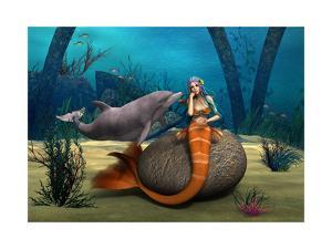 Sad Mermaid by Vac