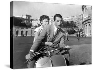 Vacances Romaines Roman Holiday De William Wyler Avec Gregory Peck Et Audrey Hepburn 1953