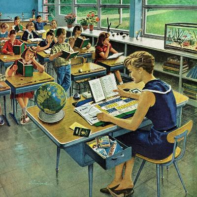 """Vacation Plans,"" April 9, 1960-Ben Kimberly Prins-Giclee Print"