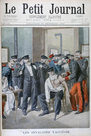 Vaccinations of the Old Soldiers, Paris, 1900-Eugene Damblans-Giclee Print