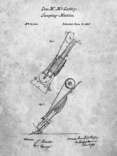 Vaccuum Cleaner Patent-Cole Borders-Art Print
