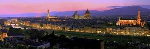 Florence at night by Vadim Ratsenskiy