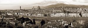 Panoramic View Of Florence by Vadim Ratsenskiy