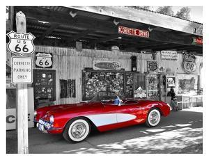 Red Corvette by Vadim Ratsenskiy