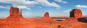 View to the Monument Valley, Arizona by Vadim Ratsenskiy