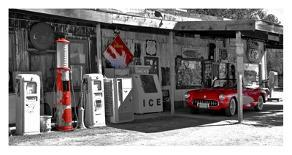 Red Corvette-Vadim Ratsenskiy-Art Print