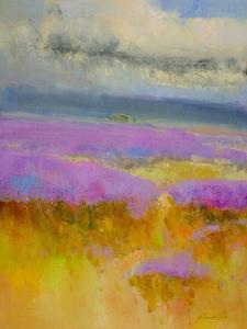 Field of Lavenders 1 by Vahe Yeremyan