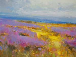 Field of Lavenders 2 by Vahe Yeremyan