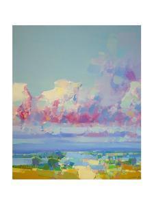 Purple Clouds by Vahe Yeremyan