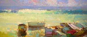 Rowboats by Vahe Yeremyan