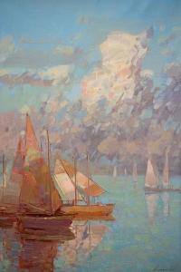 Sail Boats by Vahe Yeremyan