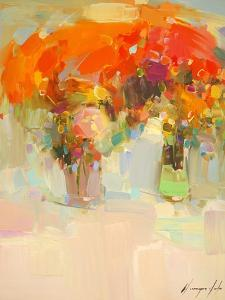 Vase of Yellow Flowers 1 by Vahe Yeremyan