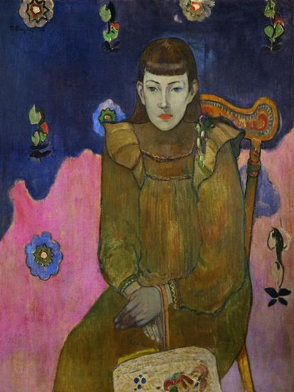 Vaiite (Jeanne) Goupil, Daughter of French Public Notary Auguste Goupil of Papeete, Tahiti-Paul Gauguin-Giclee Print