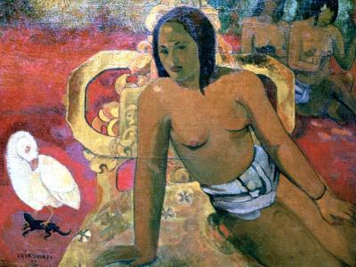 Vairumati, 1896-Paul Gauguin-Giclee Print