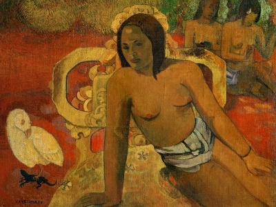 Vairumati, 1897-Paul Gauguin-Giclee Print