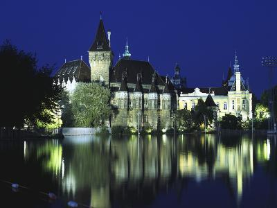 Vajdahunyad Castle in the City Park, Budapest, Hungary-Peter Thompson-Photographic Print