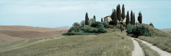 Val d'Orcia Pano #4-Alan Blaustein-Photographic Print