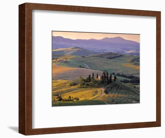 Val d'Orcia-Doug Pearson-Framed Photographic Print