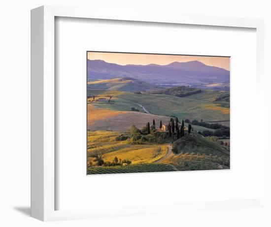 Val d'Orcia-Doug Pearson-Framed Photographic Print