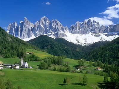 Val Di Funes and the Dolomiti-Brian Lawrence-Photographic Print