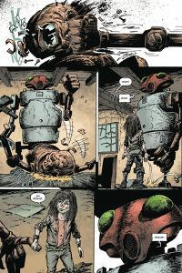 Zombies vs. Robots: Volume 1 - Comic Page with Panels by Val Mayerik