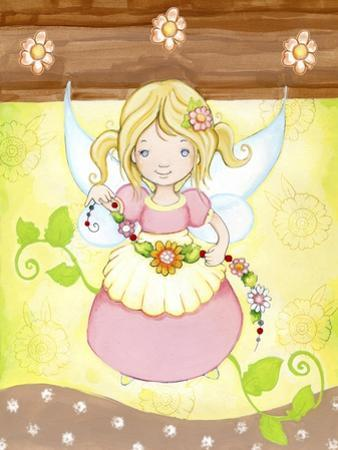 Fairy in my Garden by Valarie Wade