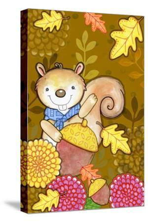 Fall Squirrel by Valarie Wade