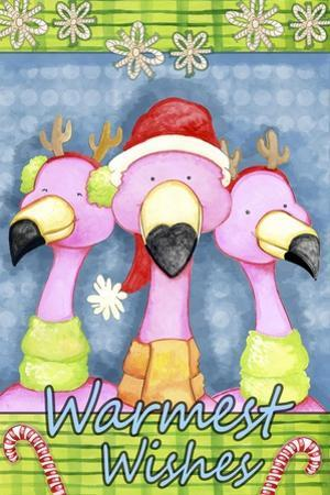 Flamingo Party by Valarie Wade
