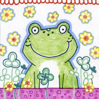 Frog In Clover