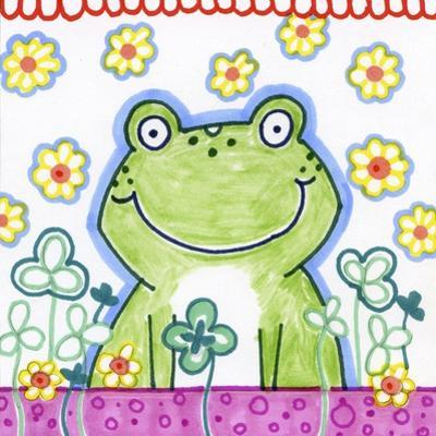 Frog In Clover by Valarie Wade
