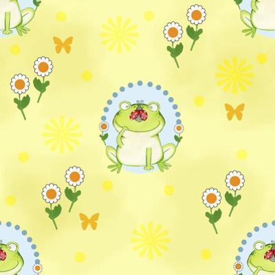 Froggie Garden by Valarie Wade