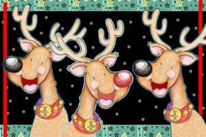 Happy Reindeer by Valarie Wade