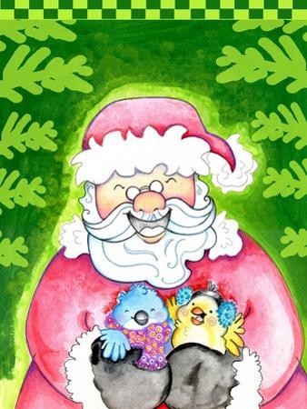 Holly Jolly Santa by Valarie Wade