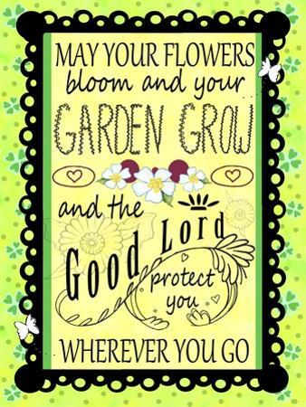 Irish Garden by Valarie Wade