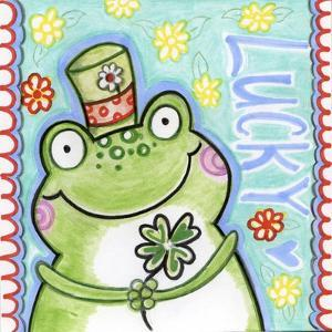 Lucky Frog by Valarie Wade