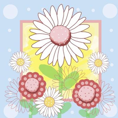 Pastel Daisies by Valarie Wade