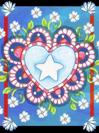 Patriotic Heart by Valarie Wade