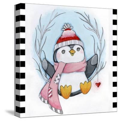 Penguin Wreath by Valarie Wade
