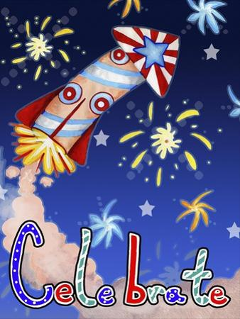 Rocket Celebration by Valarie Wade