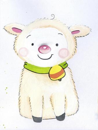 Sitting Sheep