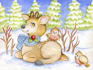 Winter Friends by Valarie Wade